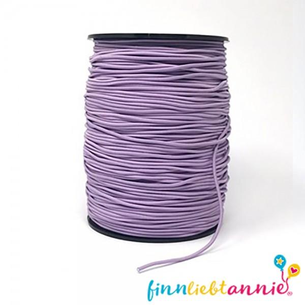 Elastische Gummikordel lavendel 2,2mm