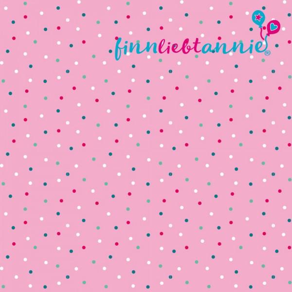 """Finn liebt Annie Jersey Kinderstoff """"Kunterbunt"""""""