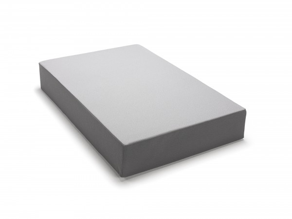 traturio Hüpfmatratze 107x70x17 cm hellgrau/grau genoppt
