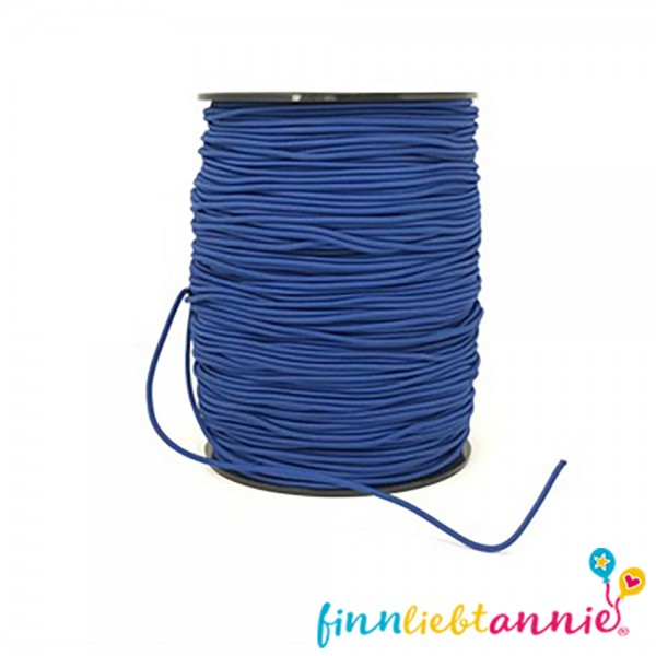 Elastische Gummikordel königsblau 2,2mm