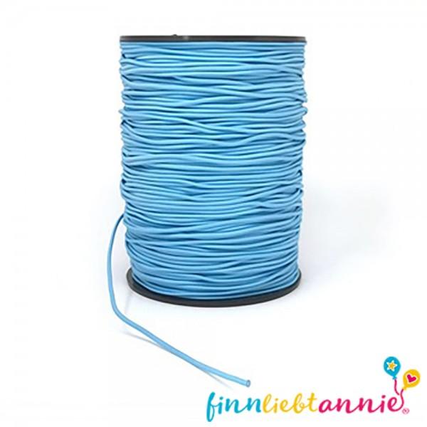 Elastische Gummikordel blau 2,2mm
